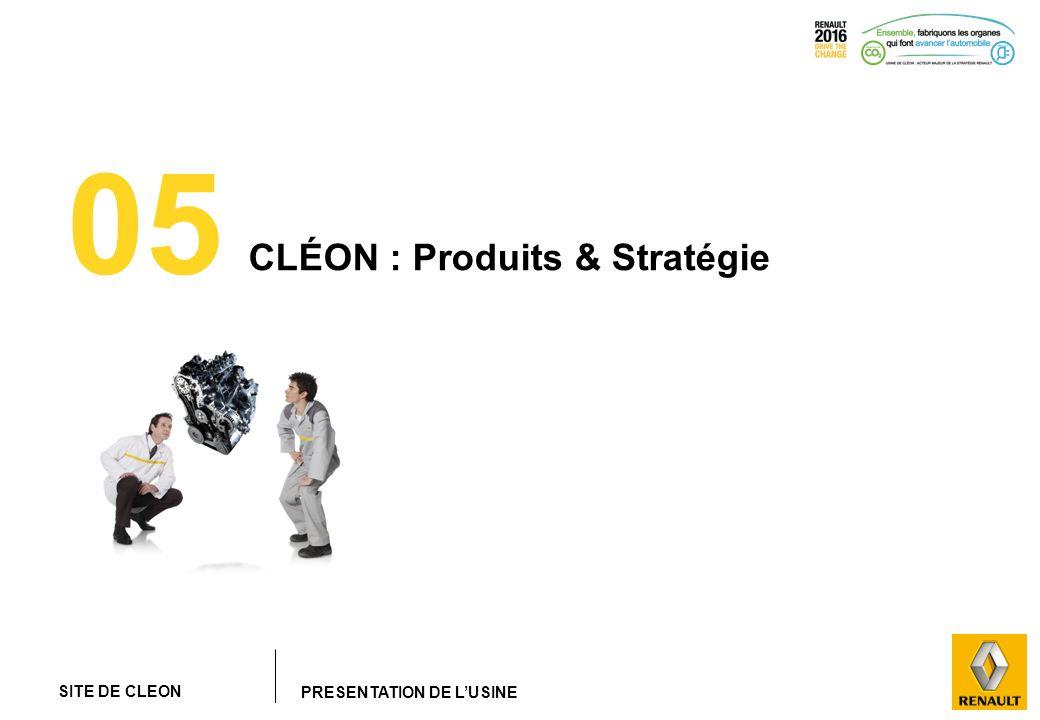 SITE DE CLEON PRESENTATION DE LUSINE 05 CLÉON : Produits & Stratégie