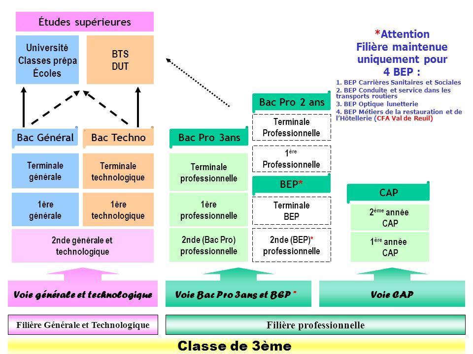 BN – CIO Évreux 2009 Classe de 3ème 2nde générale et technologique 1ère générale 1ère technologique Terminale BEP 1ère professionnelle 2nde (BEP)* pro
