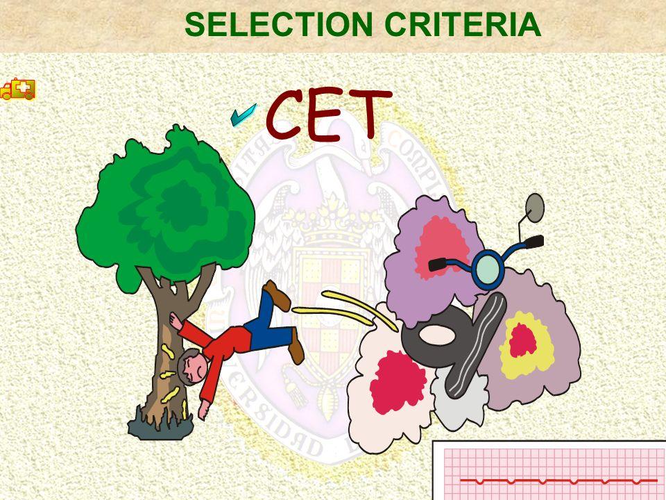 CET SELECTION CRITERIA