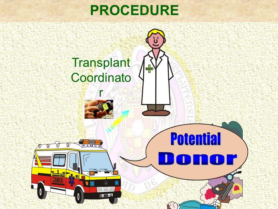 PROCEDURE Transplant Coordinato r