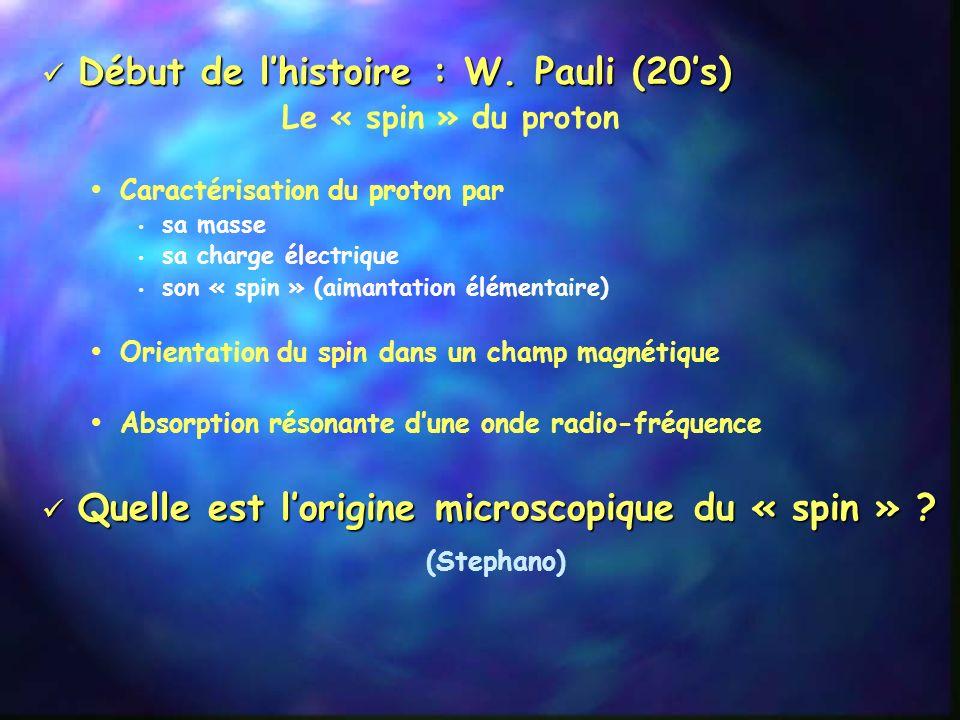 Connaissance fondamentale Connaissance fondamentale Structure élémentaire de la matière Physique nucléaire (CERN !) Physique des particules Physique h