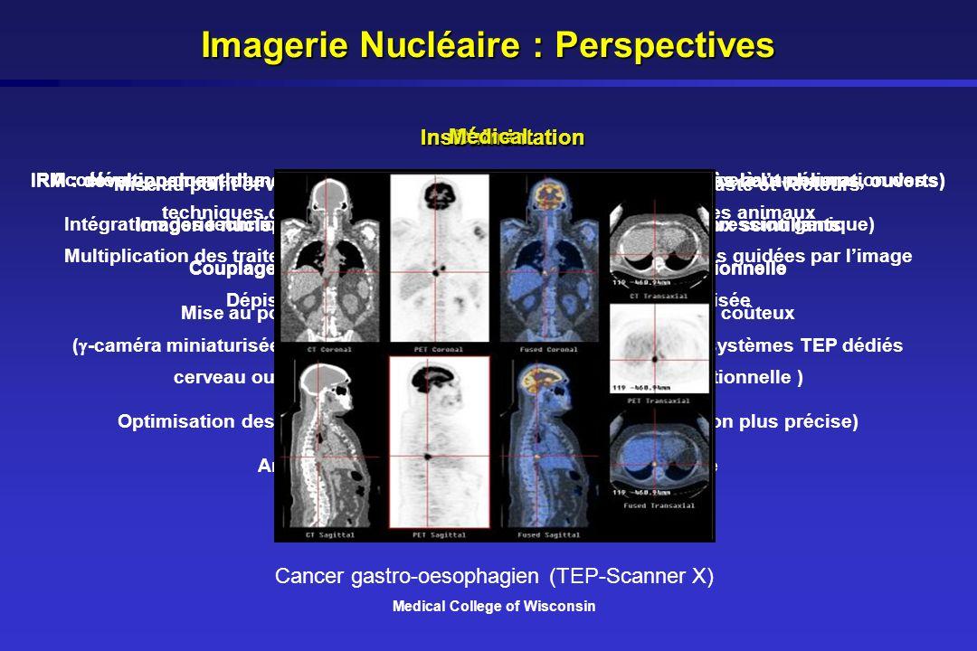 Chimie Mise au point et validation de nouveaux traceurs, agents de contraste et vecteurs Intégration des techniques de la biologie moléculaire (imager