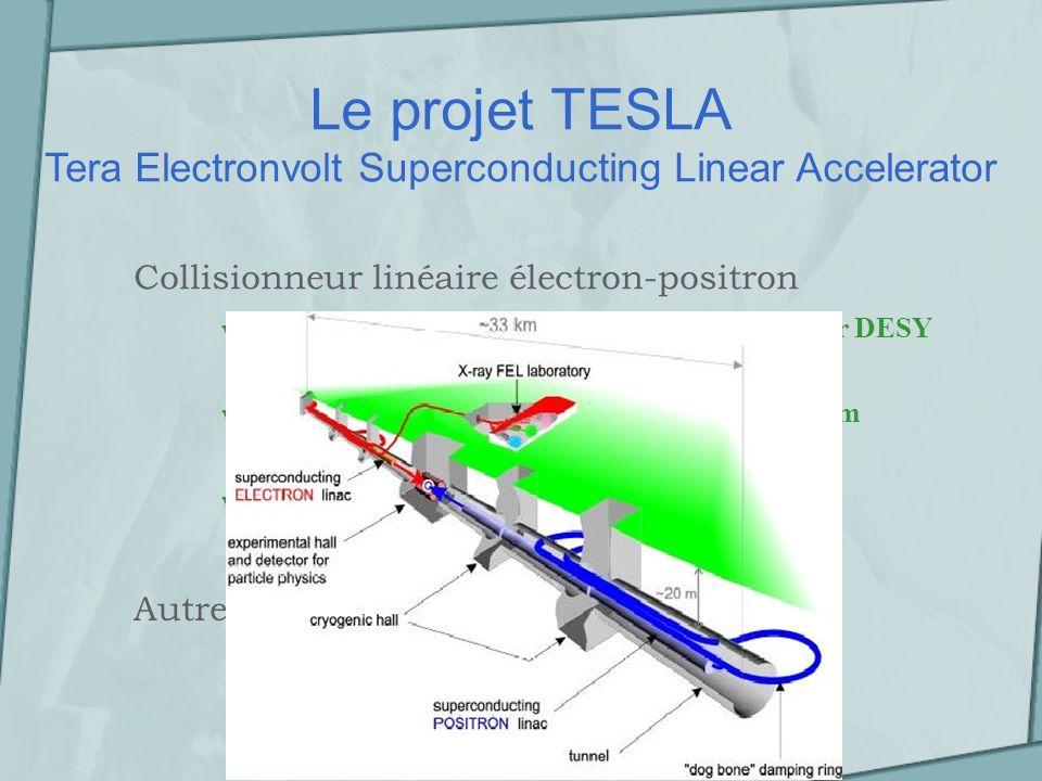 Présentation de létude Les détecteurs Un détecteur de vertex Une TPC Un calorimètre électromagnétique Un calorimètre hadronique Essentiellement 4 types de détecteurs