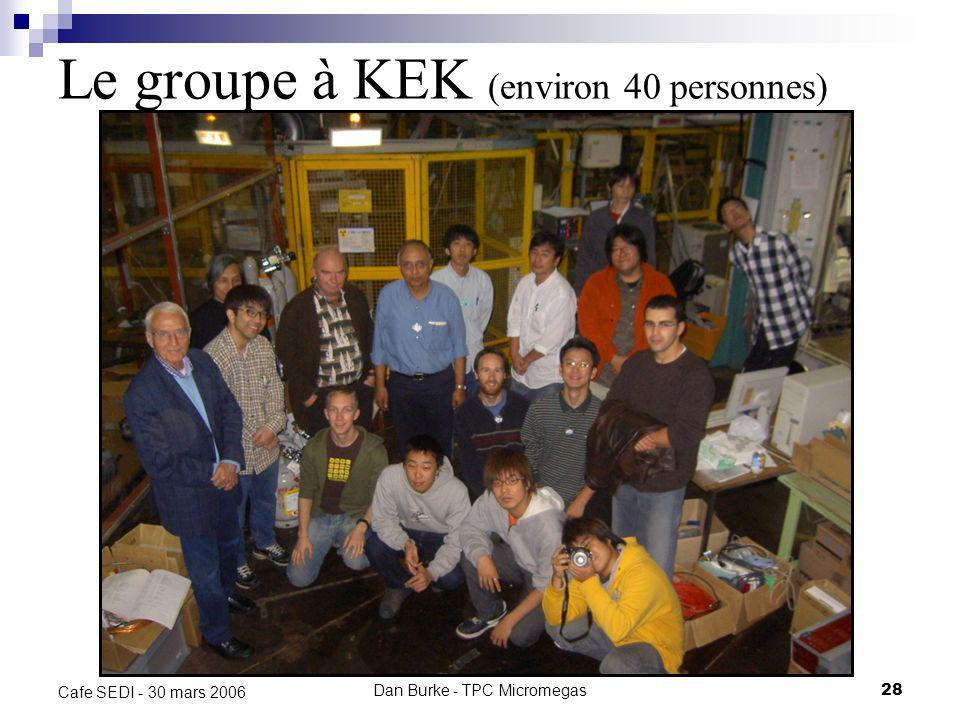 Dan Burke - TPC Micromegas27 Cafe SEDI - 30 mars 2006