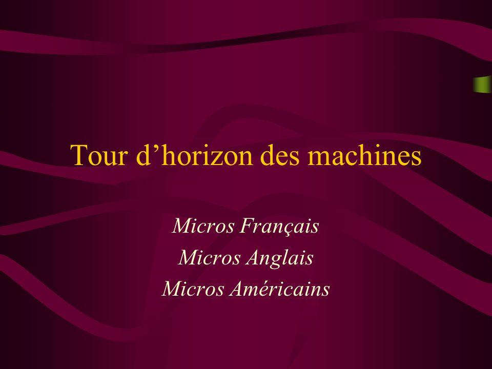 (C) Philippe ROOSE - IUT Informatique de Bayonne/LIUPPA - 2002 17 Apple - Mac