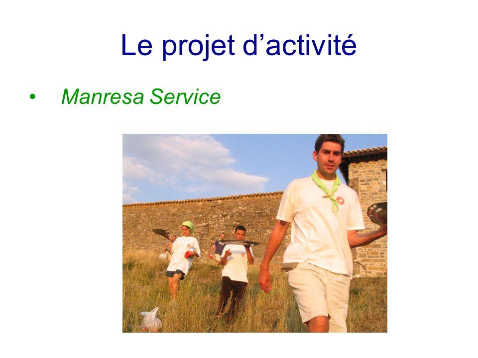 Le projet dactivité Manresa Service