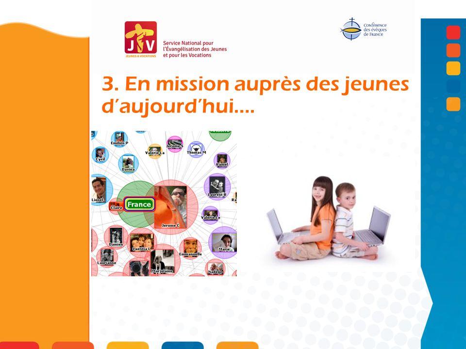 3. En mission auprès des jeunes daujourdhui….