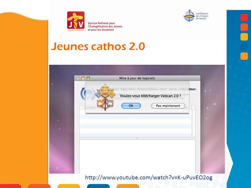 Jeunes cathos 2.0 http://www.youtube.com/watch?v=K-uPuvEO2og