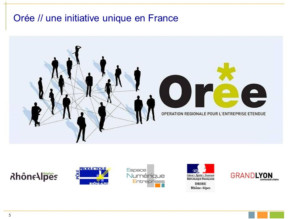 5 Orée // une initiative unique en France