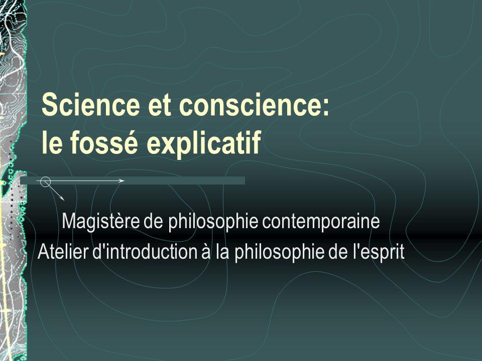 Conscience phénoménale: Que sont les qualia.