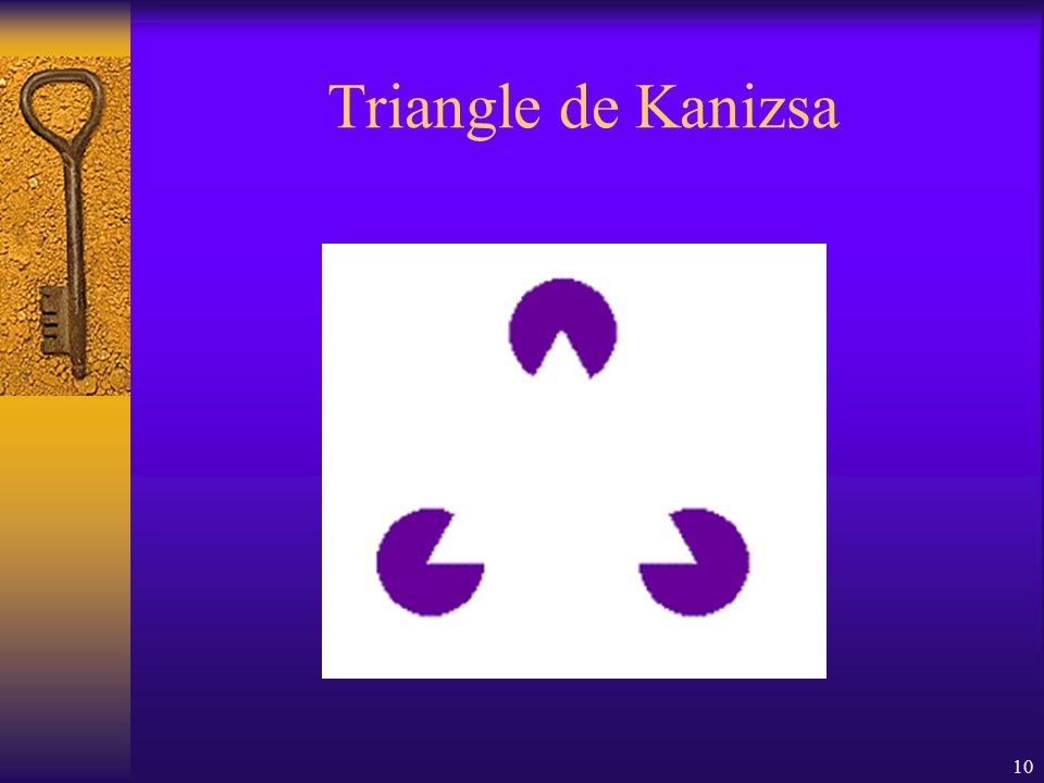 10 Triangle de Kanizsa
