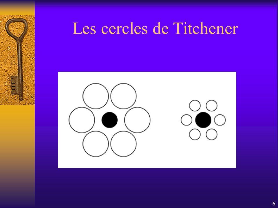 6 Les cercles de Titchener