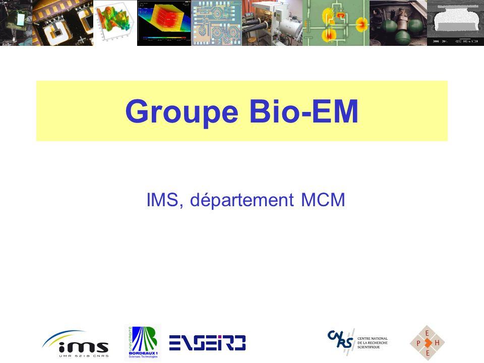 IMS, département MCM Groupe Bio-EM