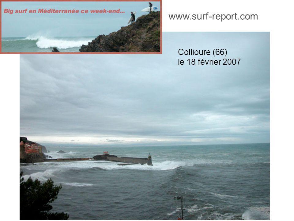 www.surf-report.com Collioure (66) le 18 février 2007