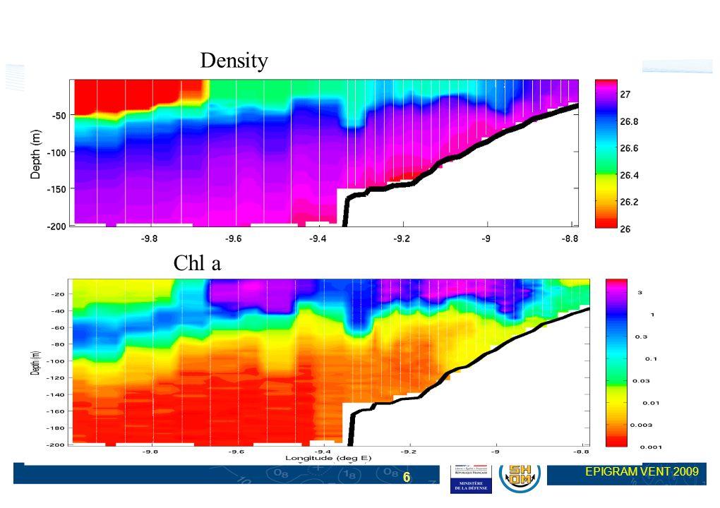 6 EPIGRAM VENT 2009 Density Chl a