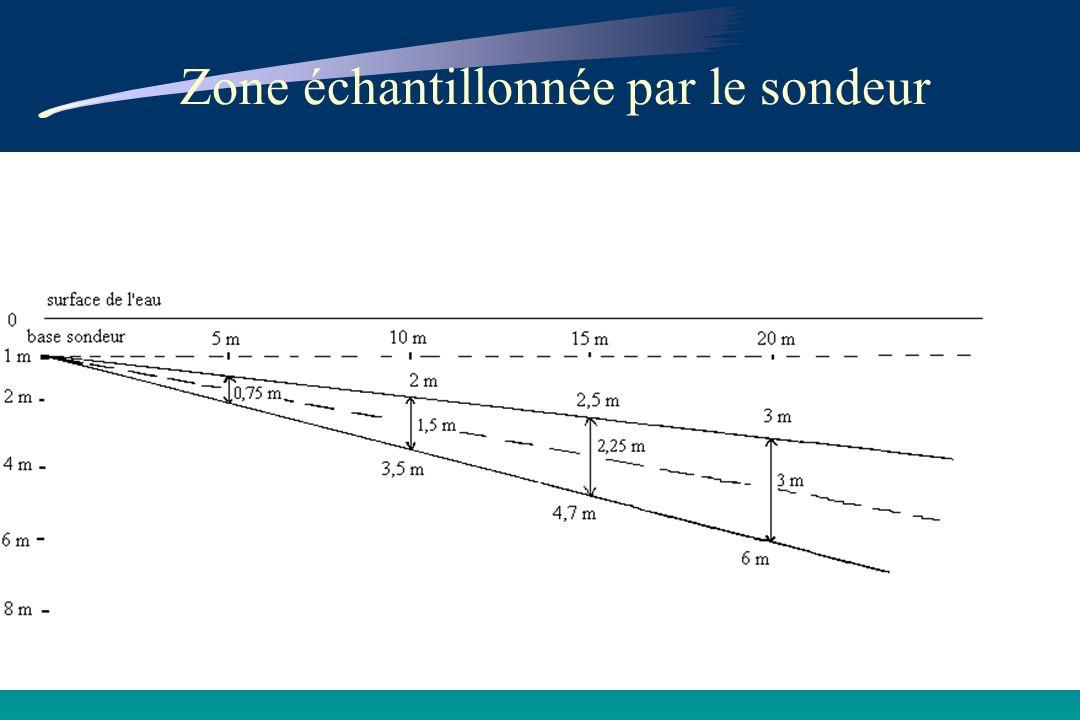 Premières estimations de la biomasse de civelles - campagne 98/99 La grande différence observée en février et mars provient de la présence dautres organismes détectés en même temps que la civelle et quil nest pas possible de dissocier par les échos.
