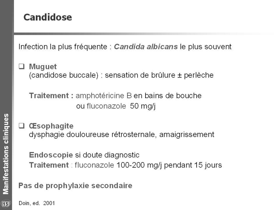 Candidoses oro-pharyngées 16