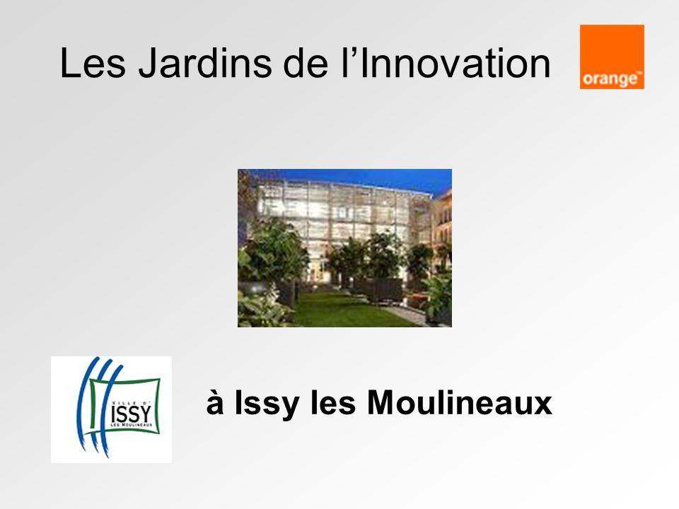 Les Jardins de lInnovation à Issy les Moulineaux
