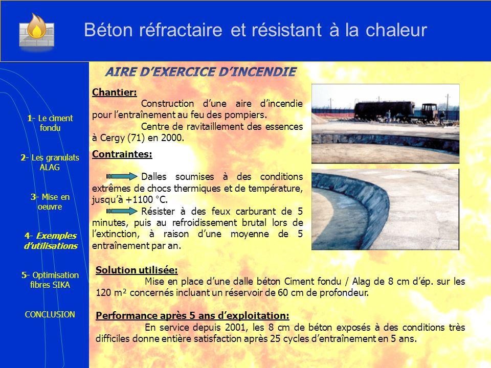 Solution utilisée: Mise en place dune dalle béton Ciment fondu / Alag de 8 cm dép. sur les 120 m² concernés incluant un réservoir de 60 cm de profonde