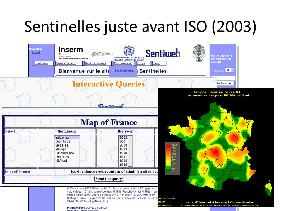 Sentinelles juste avant ISO (2003)