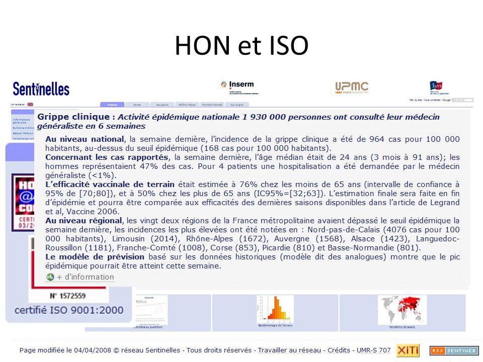 HON et ISO