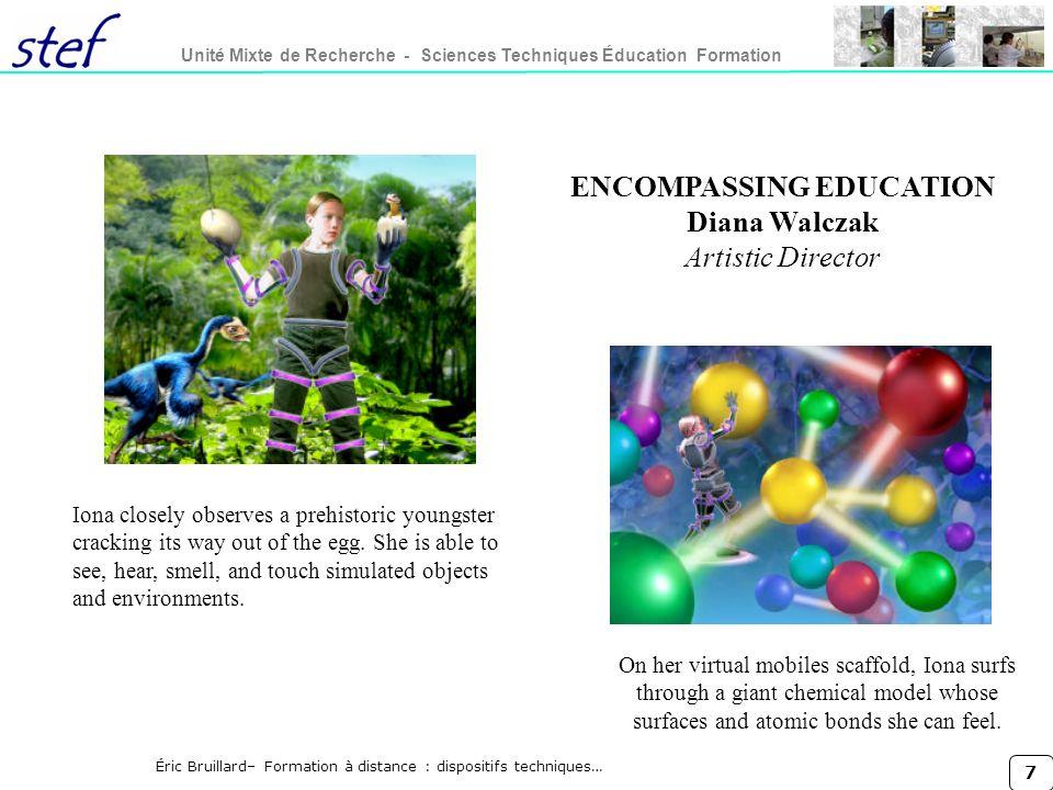 8 Unité Mixte de Recherche - Sciences Techniques Éducation Formation Éric Bruillard– Formation à distance : dispositifs techniques… Johnsen, E-B.