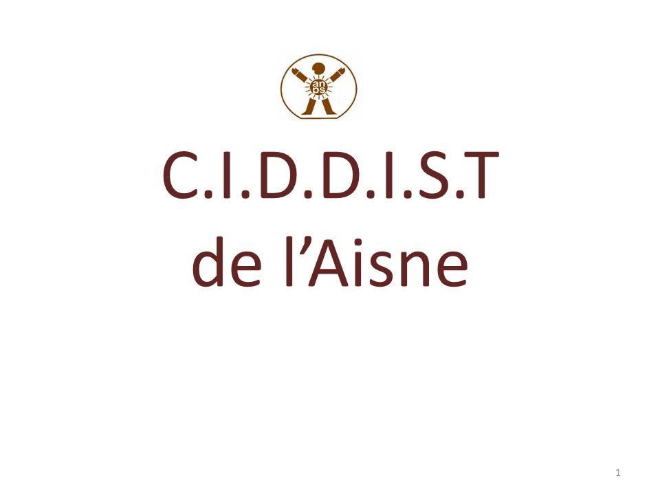 Centre de Promotion de la Santé de lAisne créé en 2006 (recentralisation) mandaté par lARS pour 3 missions : – CLAT – Vaccinations – C.I.D.D.I.S.T service rattaché à lANPS, siège administratif: Tergnier (7 CES, SSIAD, SPS, CPSA) 2 médecins, 7 IDE, 3 secrétaires 2