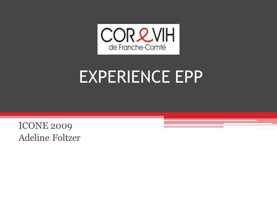 EXPERIENCE EPP ICONE 2009 Adeline Foltzer
