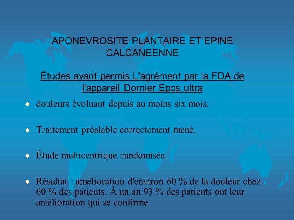 APONEVROSITE PLANTAIRE EPINE CALCANEENNE TENDINITE DACHILLE