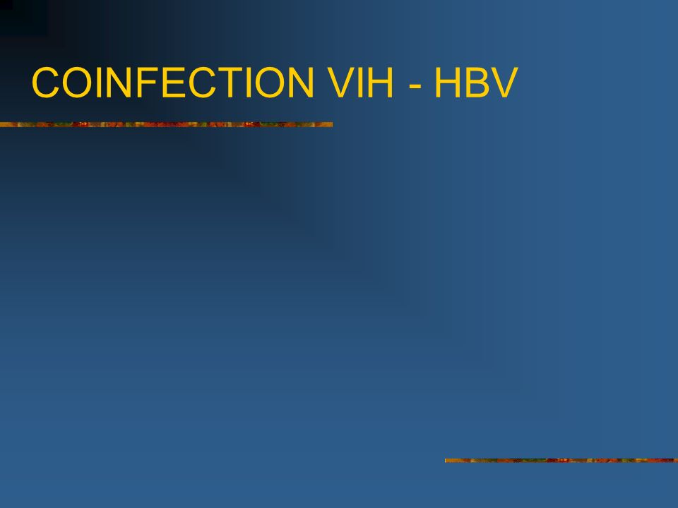 COINFECTION VIH - HBV