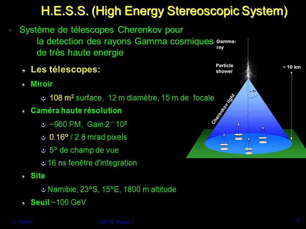 M. PunchHESS Phase I 2 H.E.S.S.