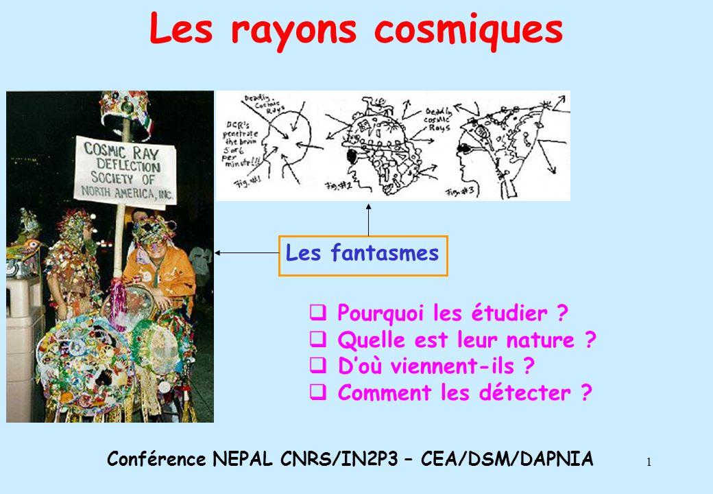 2 Une expérience en astrophysique Ondes électromagnétiques Rayons cosmiques Messagers Un phénomène (violent) cosmique