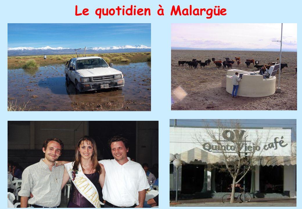27 Le quotidien à Malargüe