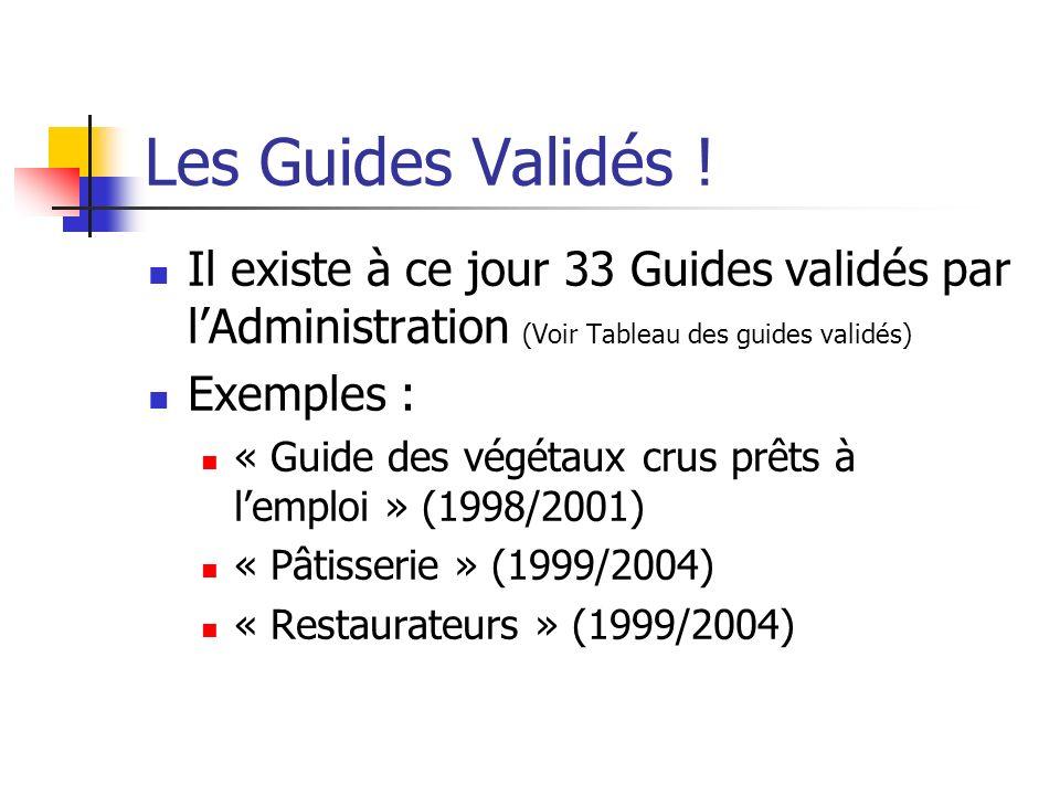 Les Guides Validés .