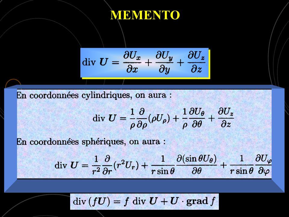 MEMENTO div U > 0