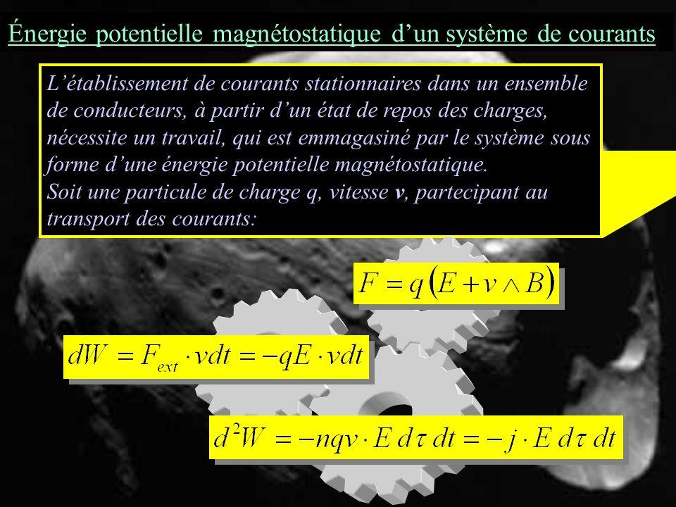 Régimes variables Loi de Faraday (forme locale) B = rot A