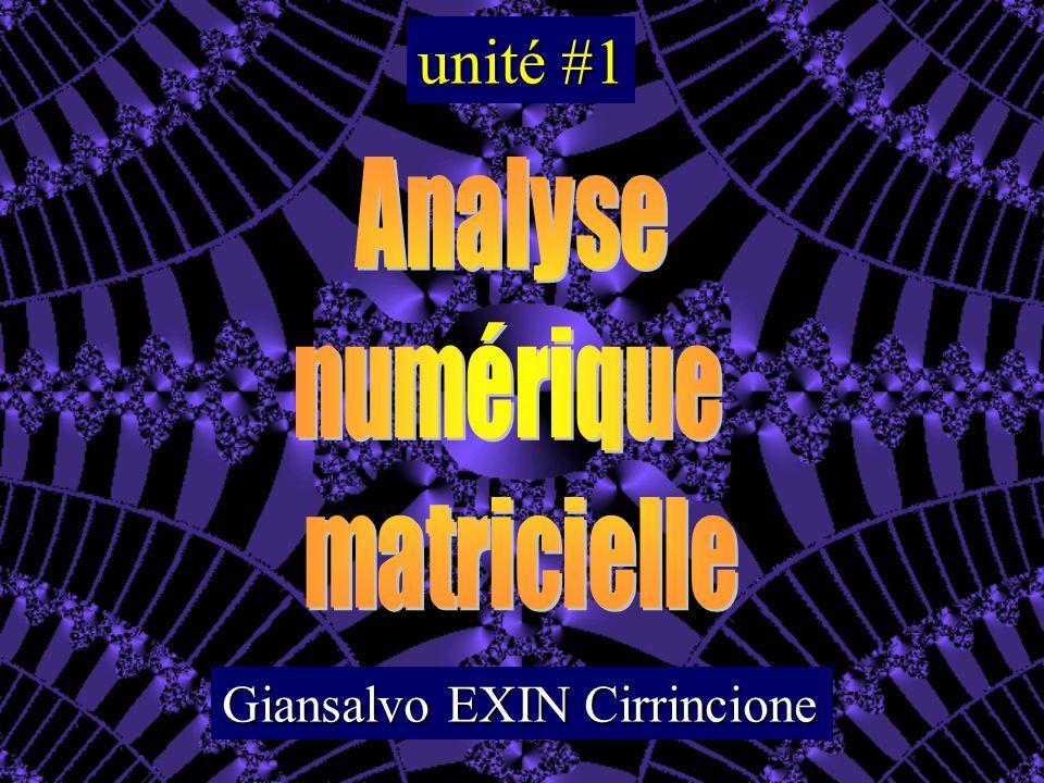 Les valeurs propres i d une matrice A d ordre n sont les n racines, réelles ou complexes, distinctes ou confondues, du polynôme caractéristique : multiplicité algébrique m A ( ) spectre de A rayon spectral de A