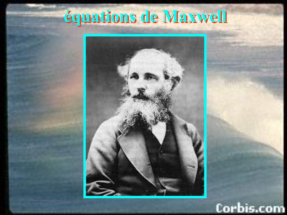 équations de Maxwell régime statique courant de déplacement Nous gardons le théorème de Gauss alors que nous devrons renoncer à ce que le champ électr