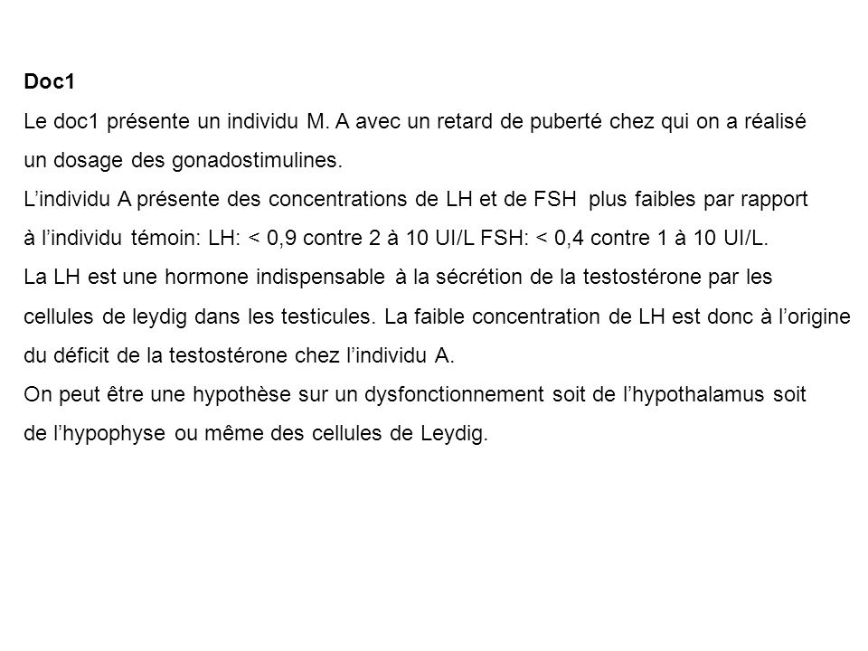 QCM Choisir la (les) bonne (s) proposition (s) : Question 1 (0.5 points) : Le brassage interchromosomique : A.