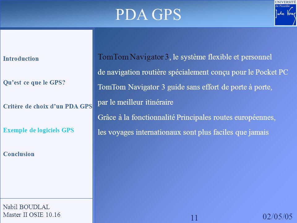 TomTom Navigator 3, le système flexible et personnel de navigation routière spécialement conçu pour le Pocket PC TomTom Navigator 3 guide sans effort