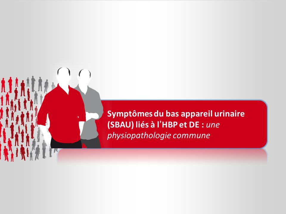 Symptômes du bas appareil urinaire (SBAU) liés à lHBP et DE : une physiopathologie commune