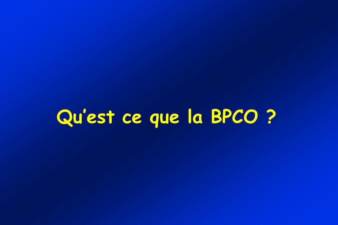 Quest ce que la BPCO ?