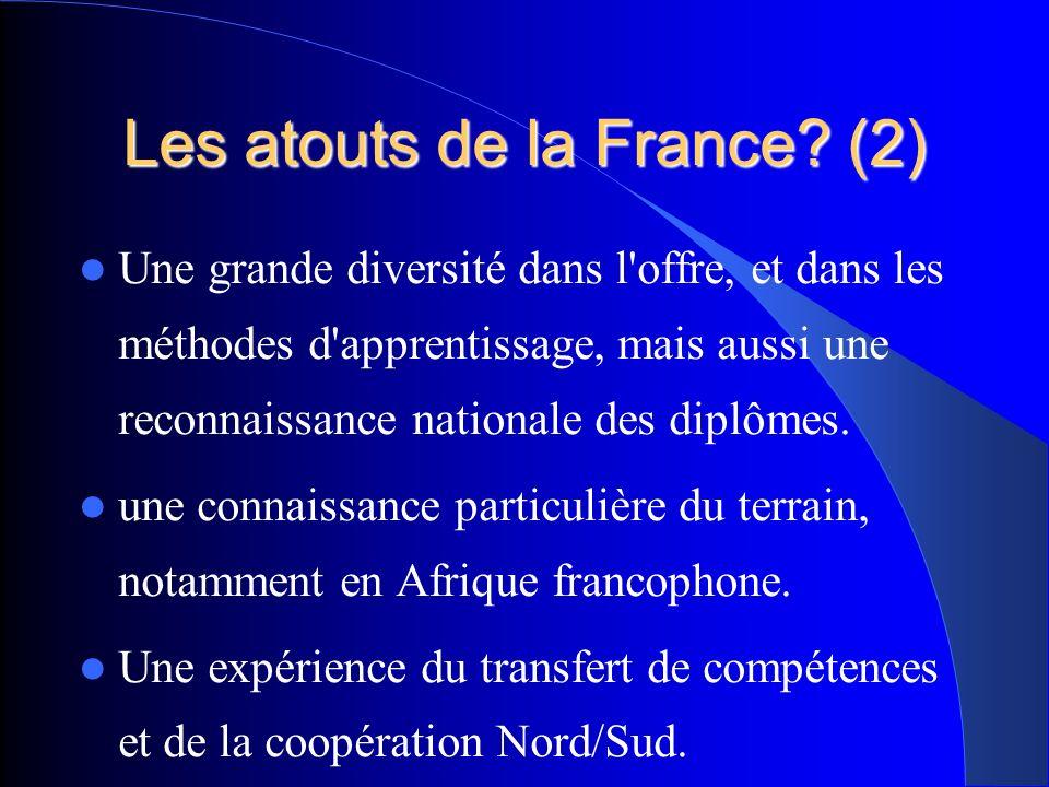 Les atouts de la France.
