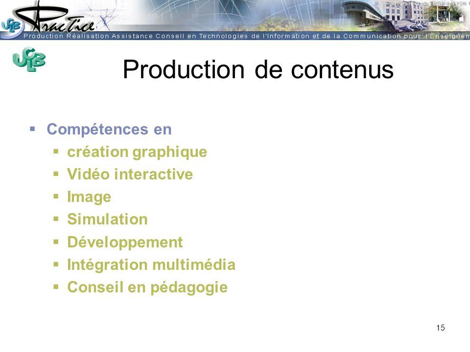 AMUE - Martine HEYDE 30 mars 2004Rénover les pratiques pédagogiques…. Production de contenus Compétences en création graphique Vidéo interactive Image