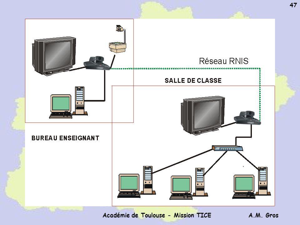 A.M. Gros Académie de Toulouse - Mission TICE 47
