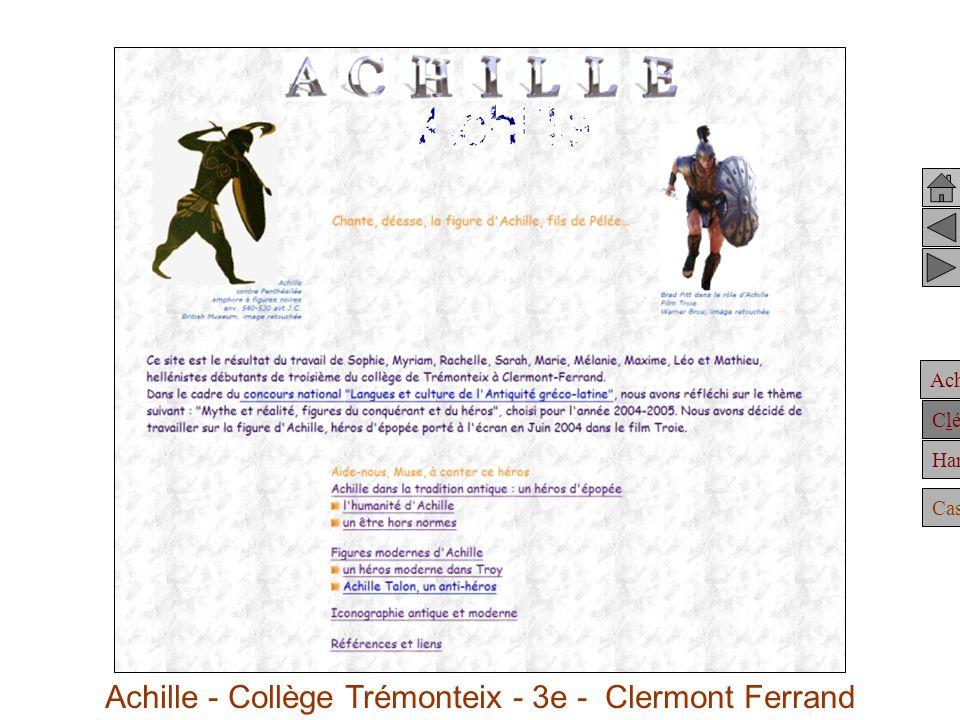 Achille Clélie Hannibal Casting Achille Achille - Collège Trémonteix - 3e - Clermont Ferrand