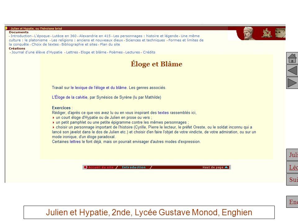 Julien Suite Enée Léonidas Sérapis, comme Pharos, comme le manuscrit, sont des dessins délèves Julien et Hypatie, 2nde, Lycée Gustave Monod, Enghien