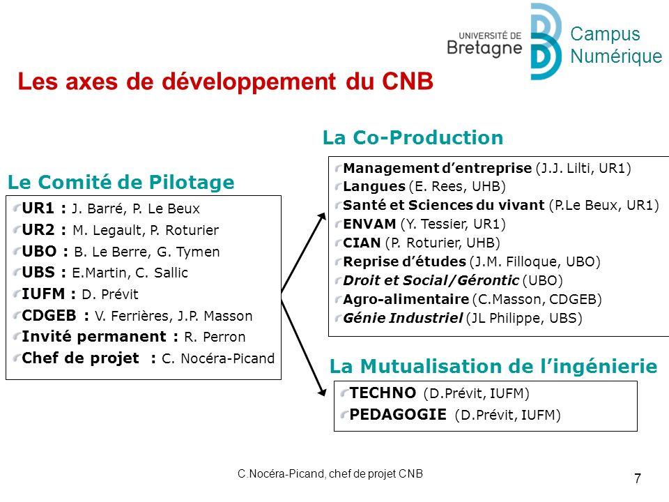Campus Numérique 7 C.Nocéra-Picand, chef de projet CNB Management dentreprise (J.J.