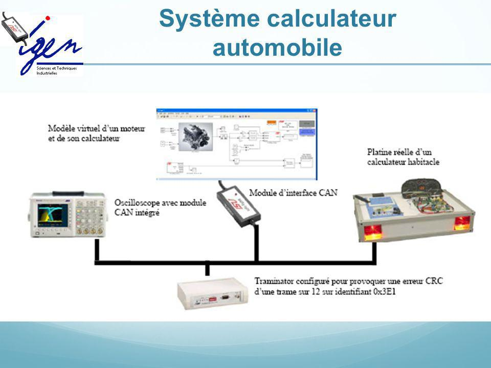 Système calculateur automobile