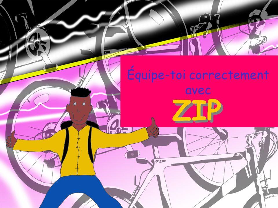 Équipe-toi correctement avec ZIP